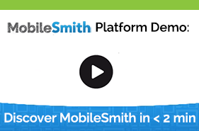 create apps with MobileSmith