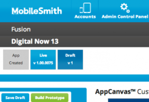 App Versioning in MobileSmith