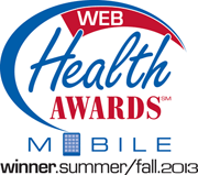 HCHC Healthy Living App - 2013 Bronze Winner at Web Health Awards