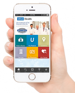 UCLA Health app - winner of 2014 Web Health Award