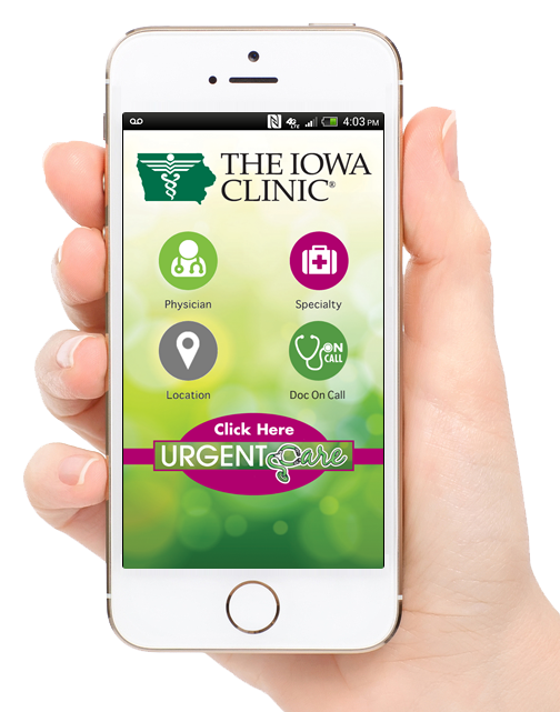 Physician Referral App - Iowa Clinic