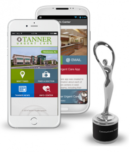 Tanner Urgent Care App - Communicator Award