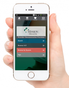 Mission Health ICD-10 App