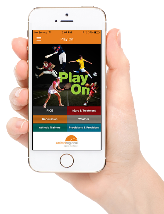 United Regional Sports Medicine Play On App