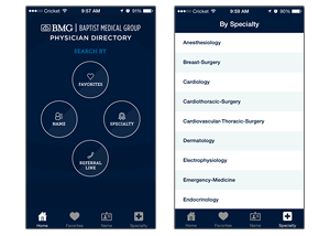 Baptist Medical Group – Physician Directory