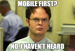 Mobile First Image