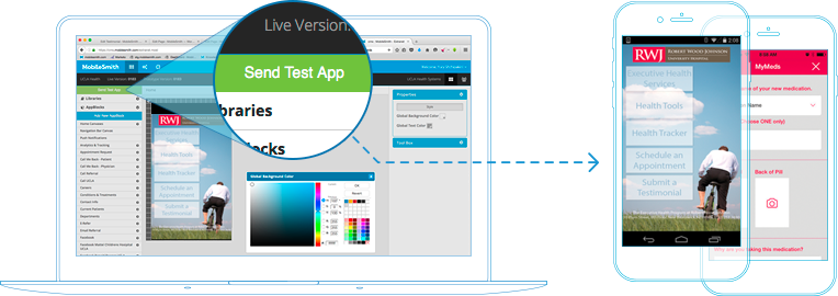 Request a 30-min Demo and Have your App in the Stores within Weeks!