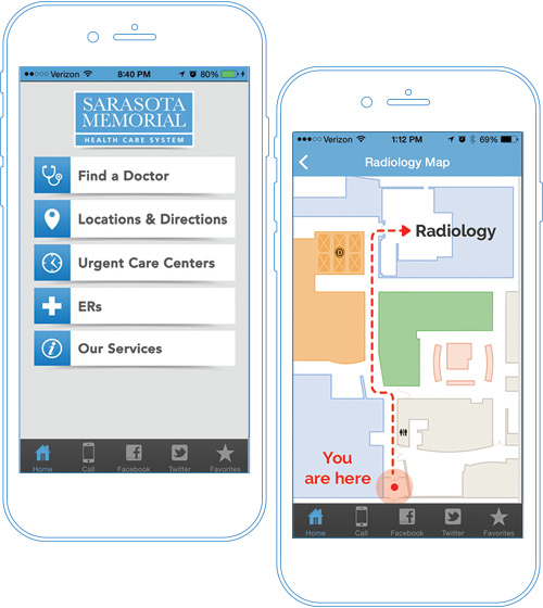 Hospital Apps - Wayfinding App