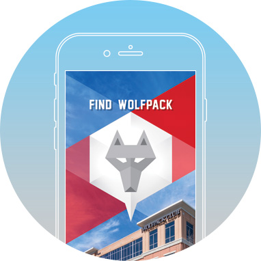 Find Wolfpack by MobileSmith