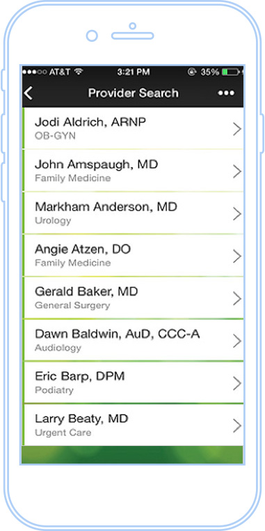 Physician Referral by Iowa Clinic