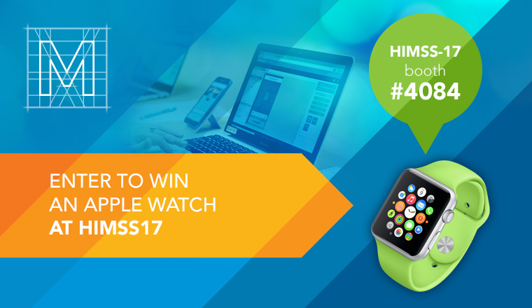 Schedule a meeting at HIMSS17 and win an Apple watch!