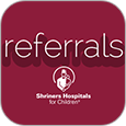 shriners referral app