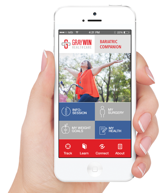 Bariatric App - Engage Your Patients