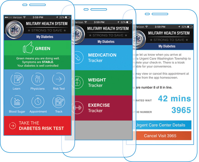 My Diabetes DHA app