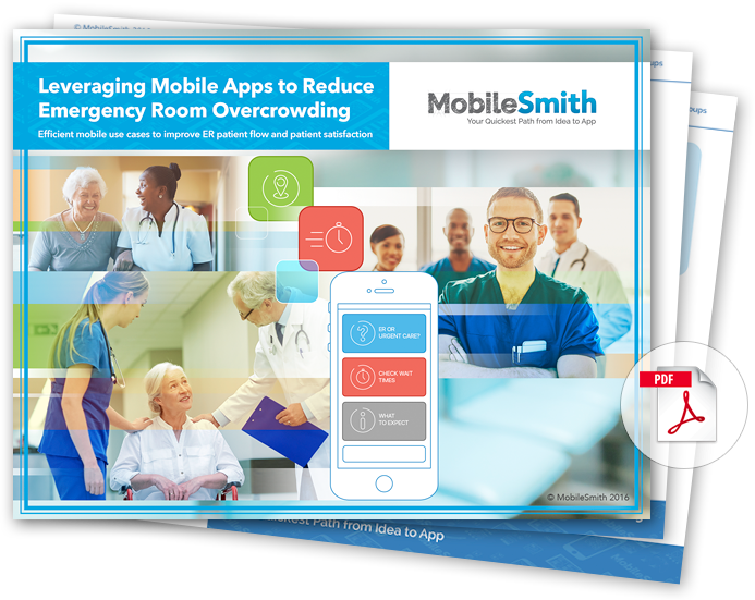 Leveraging Mobile Apps to Reduce Emergency Room Overcrowding