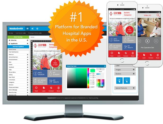 MobileSmith - #1 Platform for Branded Hospital Apps in the U.S.