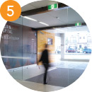 Wayfinding step - 5: Leaving the Hospital