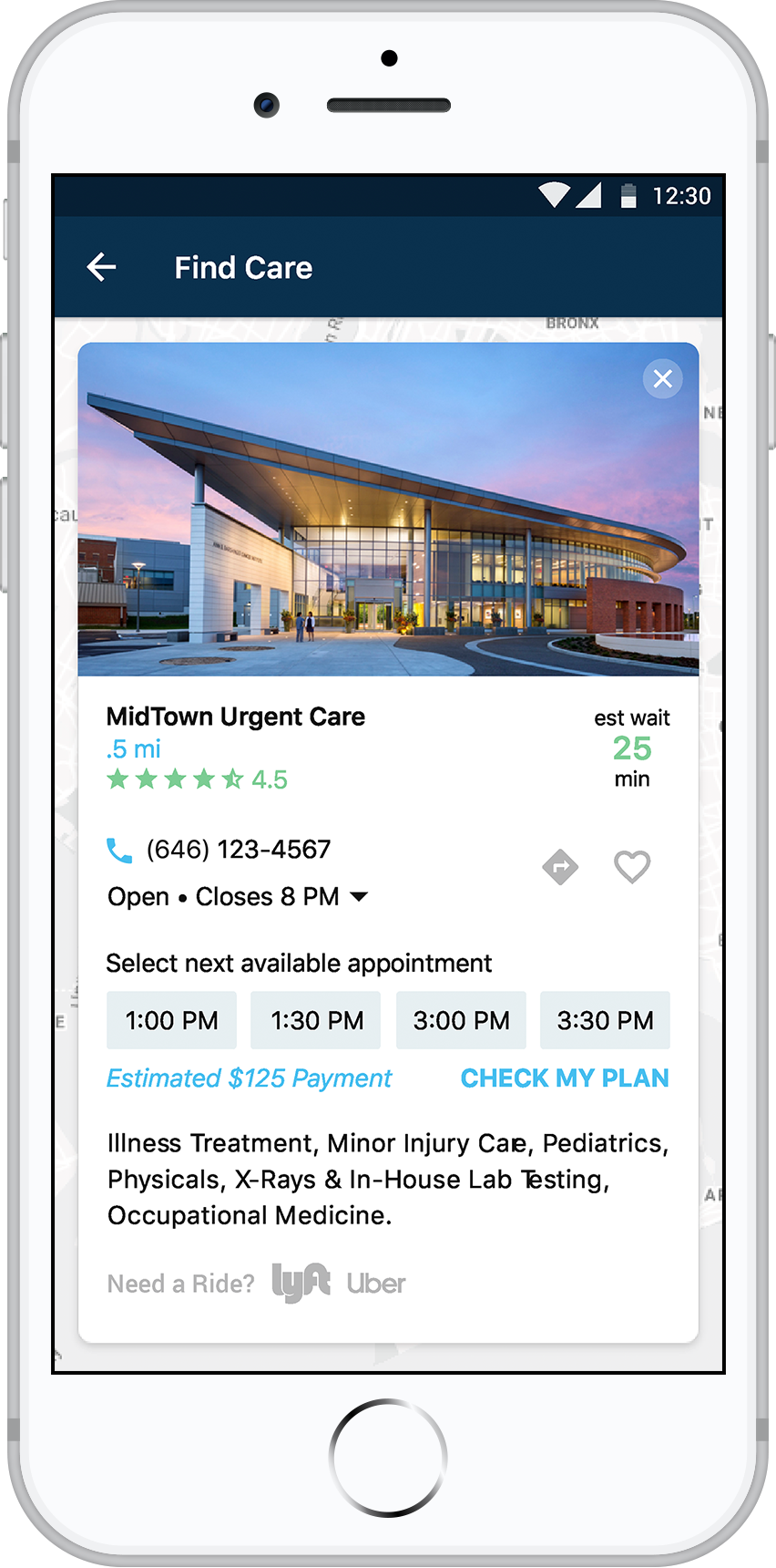 payer app detail