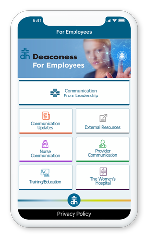 Deaconess Health System COVID Mobile Response App